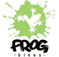 Frog Bike at Cycle-ops Bike shop Tonbridge Kent